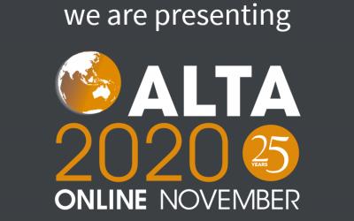Element Process to present at ALTA 2020