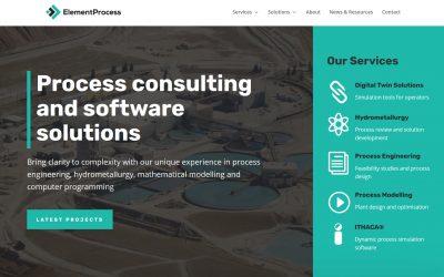 Element Process launches website